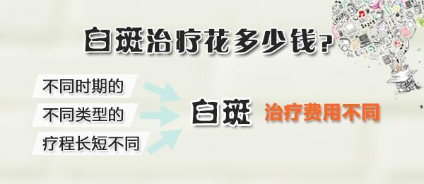 宁波治疗白癜风费用 小片白癜风治疗要多少钱