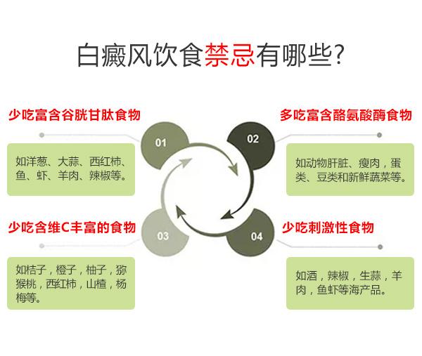 白癜风患者的饮食禁忌有哪些?