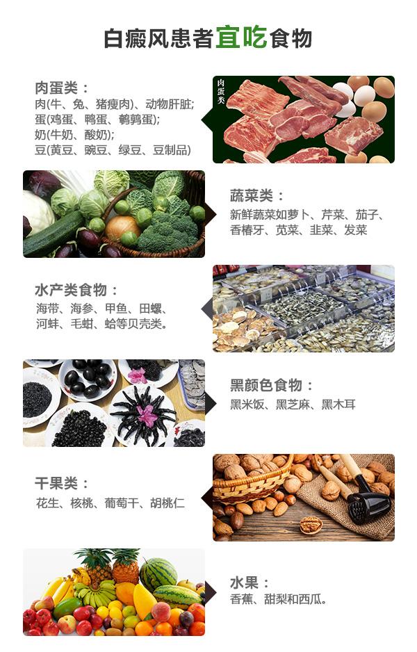 邵阳白癜风患者应该多吃哪些及健康又营